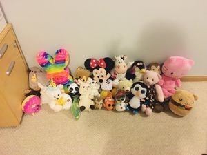 Bag of stuffed animals!! for Sale in Ontarioville, IL