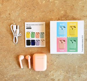 LIGHT PINK INPOD 12 TWS bluetooth 5.0 headset wireless touch for Sale in Los Angeles, CA