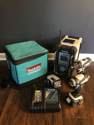 Makita 18v drill set for Sale in Endicott, NY