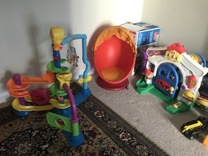 Kids toys and ikea egg chair for Sale in Manassas, VA