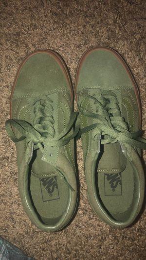 GREEN VANS SIZE 8 for Sale in El Cajon, CA