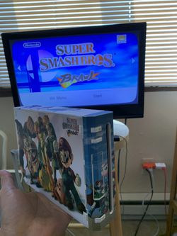 Nintendo Wii System!! With Super smash Game!! for Sale in Lakewood,  WA