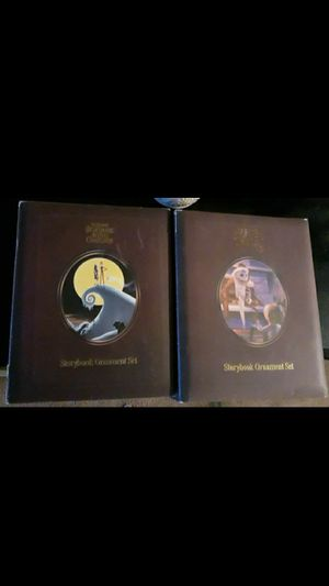 Collectors Nightmare Before Christmas Story Book Ordament Sets for Sale in Las Vegas, NV