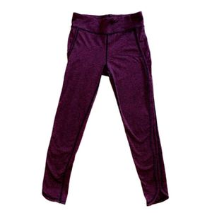 EUC Free People Size Small Movement Leggings (Like Lululemon, Nike, Gymshark) Purple Pink Women's Yoga Running Gym Clothes S for Sale in Canton, MI