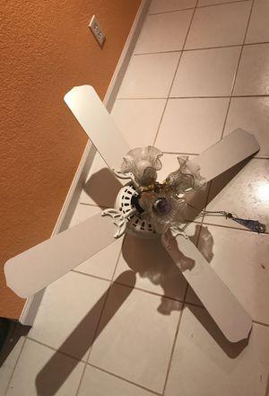 Ceiling Fan with Light 💡 Fixture for Sale in Pembroke Pines, FL