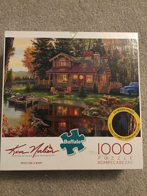 1000 Piece Puzzle Kim Morlien by Buffalo Games - Piece Like A River for Sale in Herndon, VA