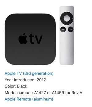 Apple TV (3rd generation) for Sale in Portland, OR