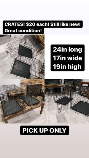Dog Crates for Sale in Riverside, CA
