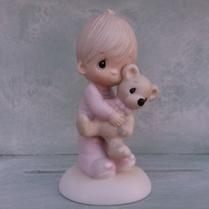 "Precious Moments ""Jesus Loves Me"" E-1372B Porcelain for Sale in Menifee, CA"