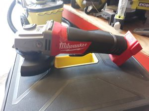 Milwaukee FUEL grinder TOOL ONLY for Sale in San Antonio, TX