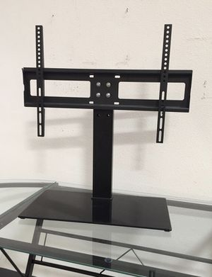 New in box 30 to 60 inches tv television stand replacement 120 lbs capacity dresser table tv stand tv mount soporte de tv for Sale in Covina, CA