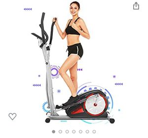 ANCHEER Elliptical Machine, Magnetic Elliptical Exercise Training Machine with LCD Monitor for Sale in Phoenix, AZ