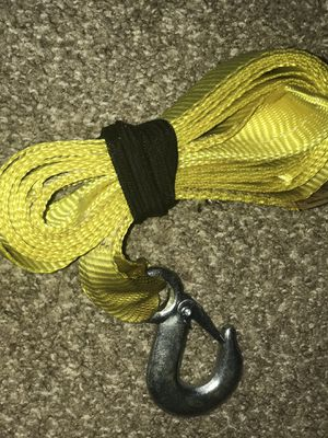 Car rope around 3.5 meter one hook for Sale in Cleveland, OH