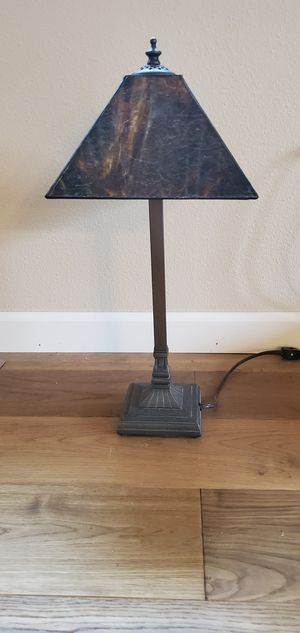 MISSION. TABLE. LAMP for Sale in Tumwater, WA
