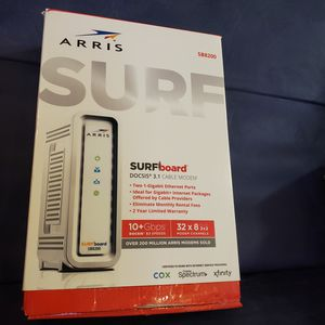 Arris Surfboard SB8200 Docsis 3.1 Modem for Sale in Fort Worth, TX