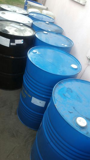 55 gallon metal barrel $15 each for Sale in San Gabriel, CA