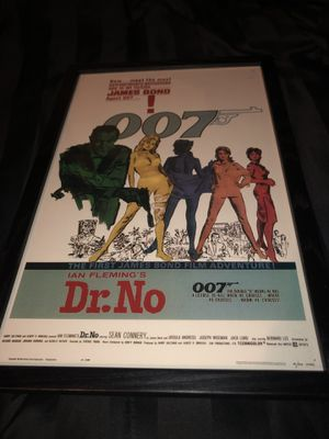 James Bond 007 collectible Year 1962 UNITED ARTISTS CORPORATION printed in U.S.A for Sale in Bellevue, WA