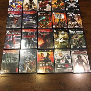 20 PlayStation 2 games PS2 Star Wars Battlefront Spider-Man Complete CIB for Sale in Hawthorne, CA