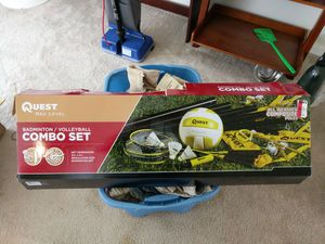 Brand new used once badminton set for Sale in Waynesville, MO