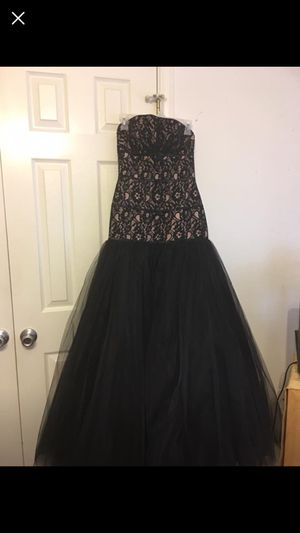 Flirt prom dress black/pink for Sale in Pass Christian, MS
