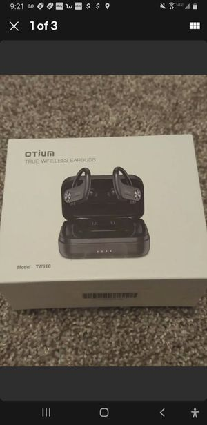 Otium wireless earbuds 5.0 sport for Sale in Etna, OH