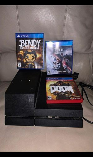 Ps4 with hard drive for Sale in Wyndmoor, PA