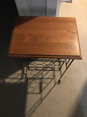 Wine Rack/Table for Sale in Pittsburgh, PA
