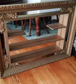 Framed antique mirror hanging for Sale in Falls Church, VA