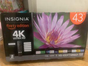 """Insignia 43"""" fire tv 4K for Sale in Covina, CA"""