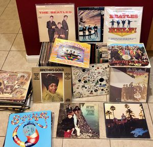 The Beatles Vinyl Records Collection for Sale in Calabasas, CA