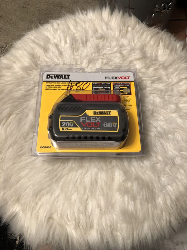 Dewalt flex volt batteries 2 for sale $80 each and firm on price . New outta box never used.
