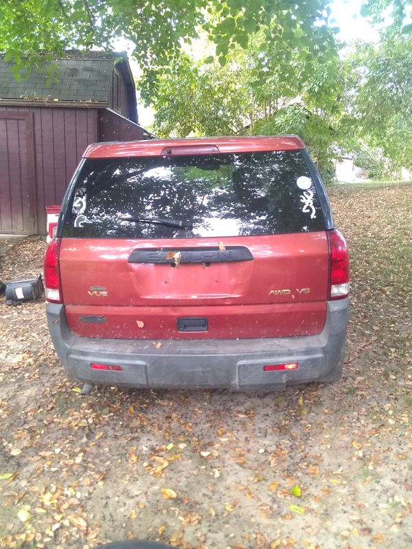 03 Saturn Vue NO TITLE parts vehicle only