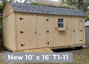 New 10' x 16' T1-11 Gambrel Shed 10'x16 for Sale in Wakefield, MA