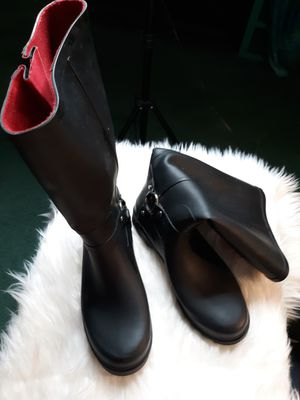 Dirty laundry rain boots for Sale in Hampton, VA