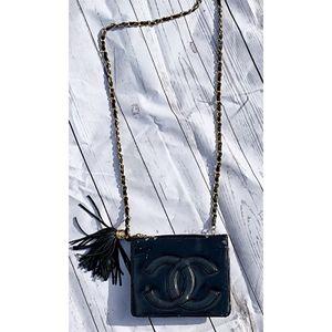 Chanel Chain Tassel Shoulder Bag AUTHENTIC for Sale in Birmingham, MI