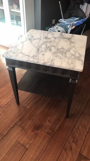 (2) Stone top occasional tables / price each for Sale in Washington, DC
