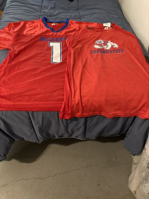 2 Fresno state Jersey and dry fit shirt for Sale in Clovis, CA
