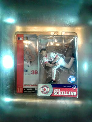CURT SCHILLING ACTION FIGURE for Sale in Portland, OR