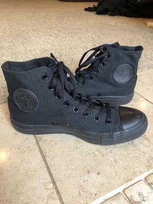 Black Converse women's size 9 for Sale in Dearborn, MI