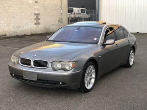 2004 bmw 745li for Sale in Lakewood, WA