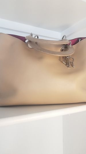 Christian Dior tan leather bag for Sale in Silver Spring, MD