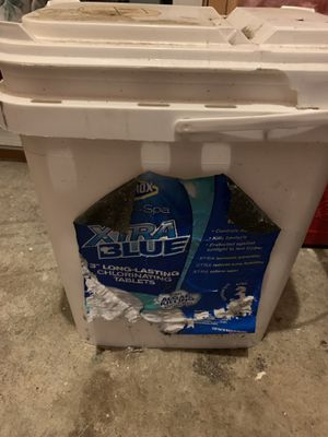 Chlorine tablets for pool for Sale in Renton, WA