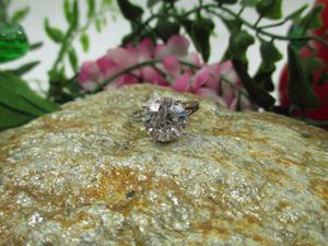 Vintage Estate Size 7 925 Sterling Silver Cubic Zirconia Diamond Band Ring Wedding Engagement Anniversary Everyday Minimalist Statement Cute for Sale in Lynnwood, WA