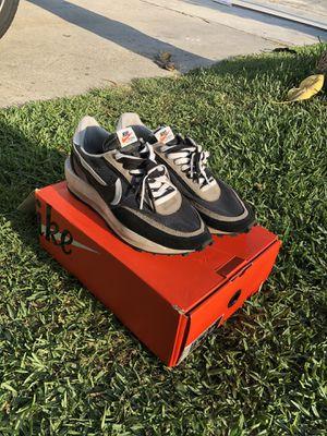 Nike Sacai Waffle Black Size 9 for Sale in Norwalk, CA