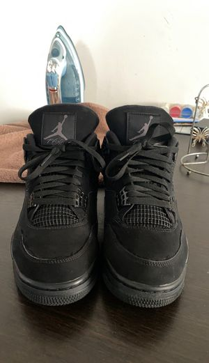 Jordan Retro 4 Blackcats for Sale in Los Angeles, CA