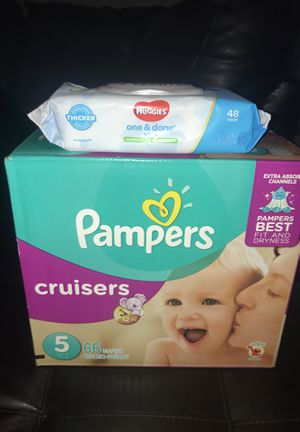 Pampers diapers for Sale in Santa Clarita, CA
