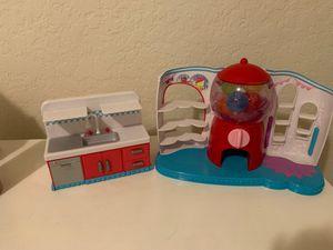 Shopkin bubblegum stand and kitchen for Sale in Laguna Beach, CA