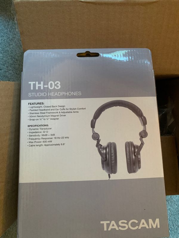 Tascam TH-03 Studio Headphones