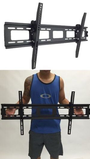 New in box universal 40 to 85 inch tilt tilting tv television flat wall mount bracket 150lbs capacity soporte de tv for Sale in Los Angeles, CA