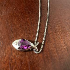 Genuine Amethyst Necklace for Sale in Rustburg, VA